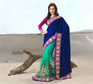 Beautiful Designs beautiful indian saree in different colours 9 outfit