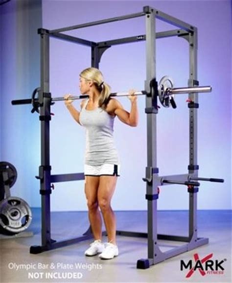 Xmark Squat Rack by Xmark Power Cage With Dip Station And Pull Up