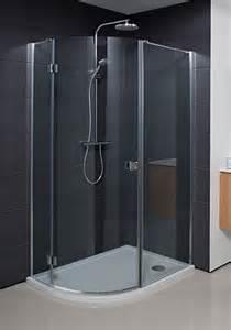Half Bathroom Design simpsons design single door offset quadrant enclosure