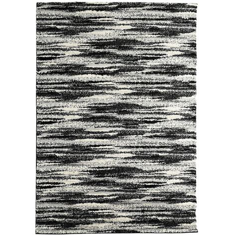 10 ft contemporary rugs lanart rug scandinavia black 8 ft x 10 ft indoor