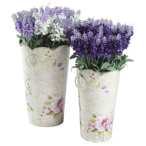 fake flowers for home decor 10 heads artificial lavender silk flower bouquet wedding