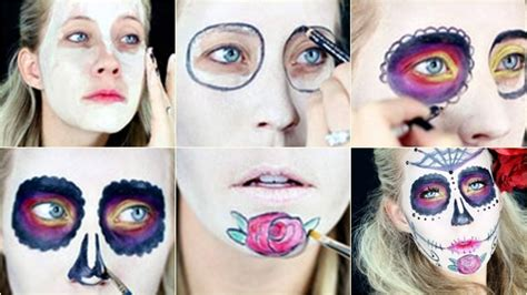 imagenes de catrina halloween maquillaje catrinas mexicanas paso a paso