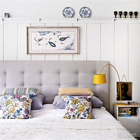rubber mat headboard 9 ways to decorate above a bed the inspired room