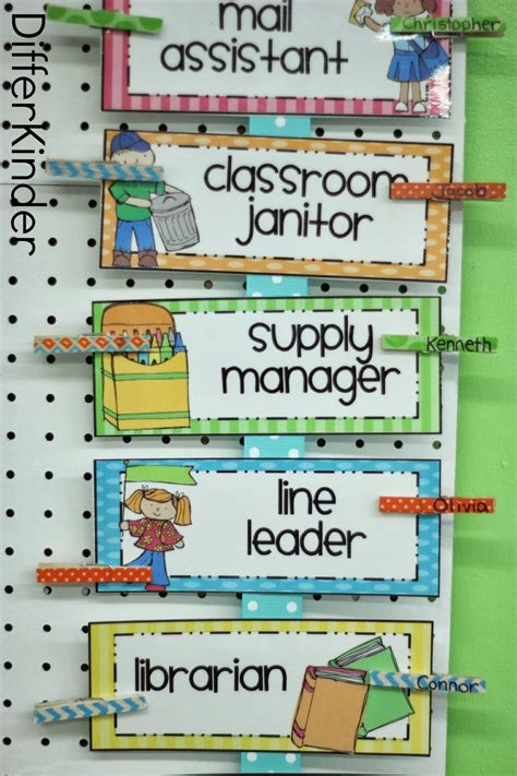 one helpers differentiated kindergarten s classroom helpers
