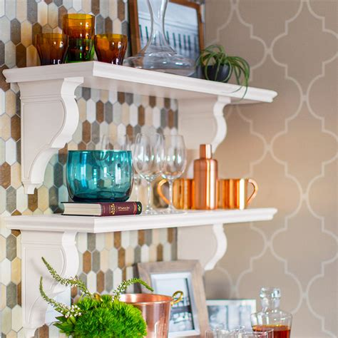Kitchen Wall Shelf | built in kitchen wall shelf