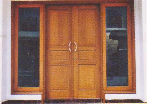 rumah minimalis modern gambar  contoh model pintu