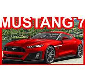 PHOTOSHOP New 2019 Ford Mustang 7th Gen  Code Name S650