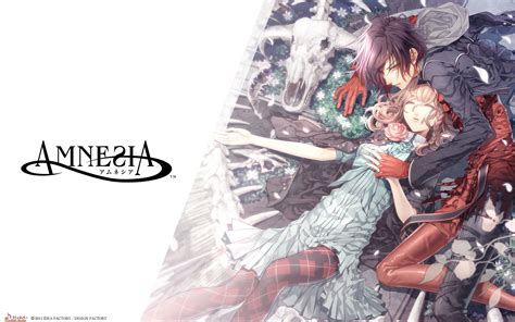 wallpaper anime amnesia amnesia artworks fanart bed sleeping high res