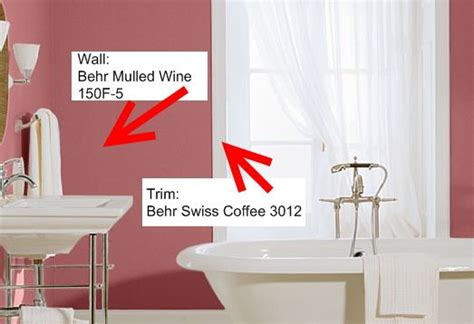 behr s spiced wine paint for the front door i love this bathroom paint colors to inspire your design