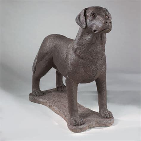 chocolate lab statute 31 quot dog garden statue