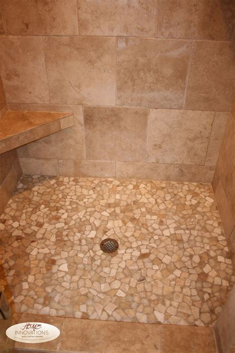 travertine floor bathroom beige tumbled travertine tile master bathroom cut river