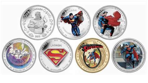 Koin Coin Set Canada Superman Anniversary royal canadian mint releases superman 75th anniversary coin sets geekdad
