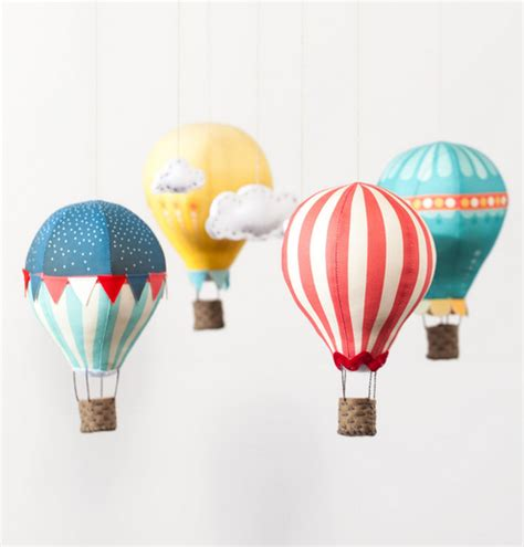 Handmade Air Balloon - crafts diy etsy tagged air balloon whimsebox