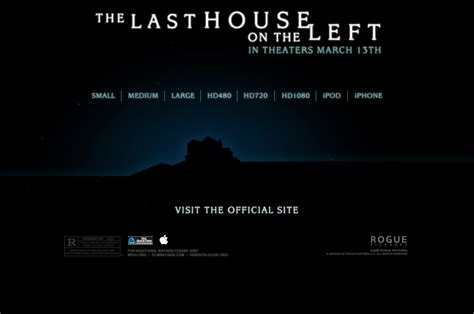 apple trailer apple trailers the last house on the left