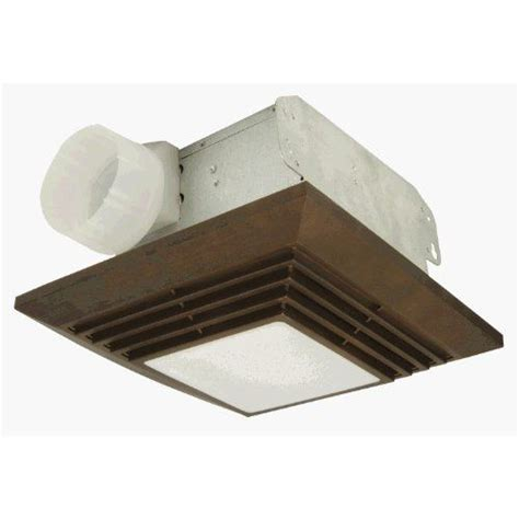 Bathroom Vents With Lights Craftmade Tfv90l Bz 90 Cfm Bathroom Exhaust Fan Light In Bronze