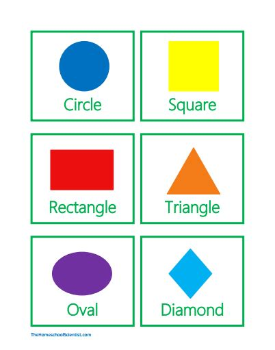 printable shapes for babies geometry scavenger hunt with free printables the
