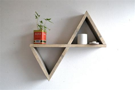 triangle wall shelf reflective triangle shelving triangle shelving