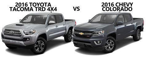 by the numbers 2015 chevy colorado vs tacoma frontier 2016 toyota tacoma trd vs 2015 chevrolet colorado