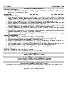 Event Consultant Sle Resume by Event Coordinator Resume Whitneyport Daily