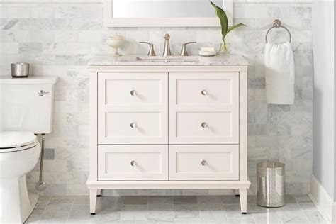 how high should a bathroom vanity be how to choose a bathroom vanity the home depot canada