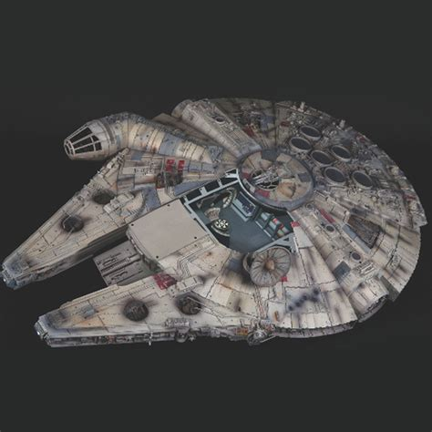millennium star build the millennium falcon model de agostini modelspace