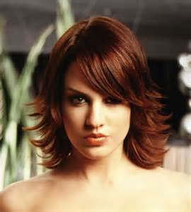 layered flipped up haircuts medium length fine hairstyles for women best medium