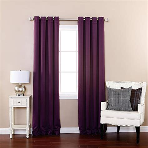 purple thermal blackout curtains best home fashion thermal insulated blackout curtains