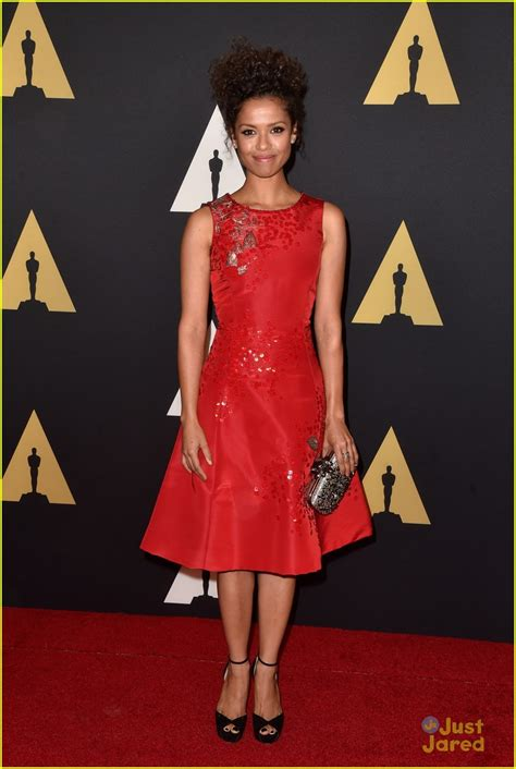 Goes For Black Accessories The Awards by Zendaya Goes Black White For Governors Awards 2014