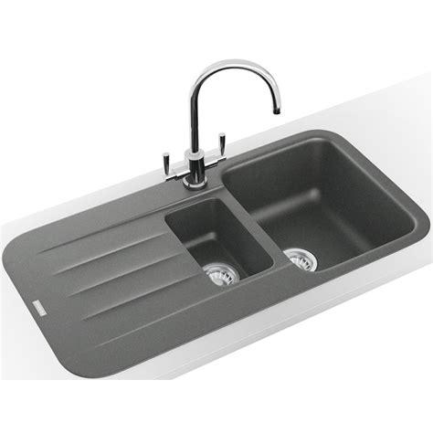 sink and tap franke pebel dp pbg 651 fragranite grey inset sink