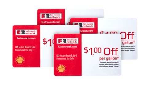 Gasoline Gift Card Deals - groupon 4 pack shell fuel rewards cards deal