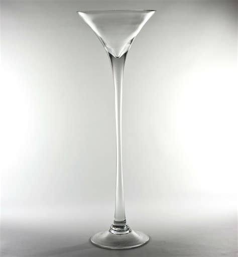 cheap price on discounted glass martini vase at
