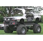 Video Man Builds DeLorean Monster Truck Doesnt Stop