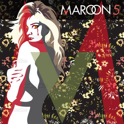 design cover maroon 5 maroon 5 album cover by kendall scavo