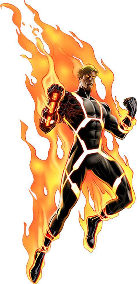 Baju Human Torch Fantastic Four human torch marvel comics fantastic four johnny