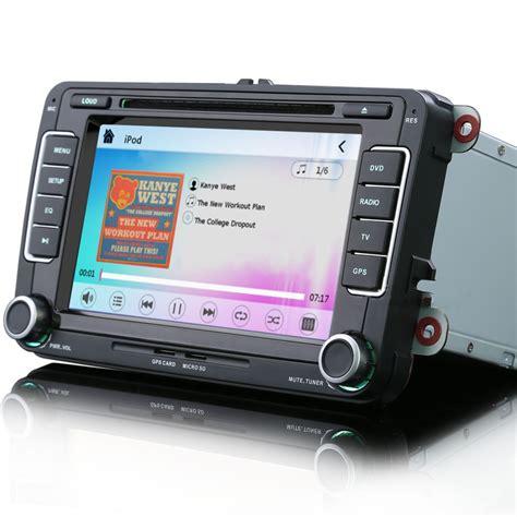 Usb Gps vw golf mk5 mk6 7 quot car radio stereo satnav bluetooth ipod