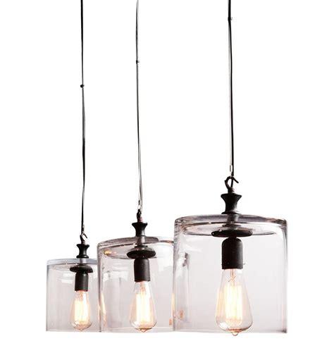 Drum Shaped Pendant Lights Willard Clear Glass Drum Shape 8 Inch Small Pendant Light Kathy Kuo Home