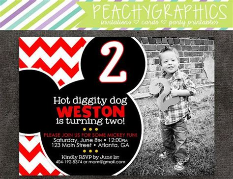 party invitations cool mickey mouse party invitations design
