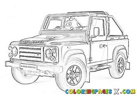 Range Rover Drawing Sketch Coloring Page | Jzgreentown.com
