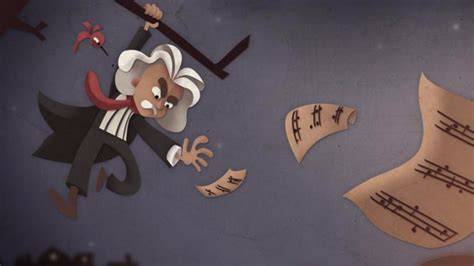 doodle beethoven 塗鴉 樂聖貝多芬 beethoven 245 歲冥誕 舉世聞名音樂大師 inews 么么九網路趨勢情報