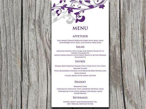 microsoft templates menu cards entree card template printable menu template quot whimsical