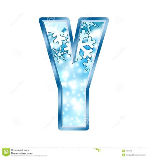 up letter to winter winter alphabet letter y royalty free stock image image