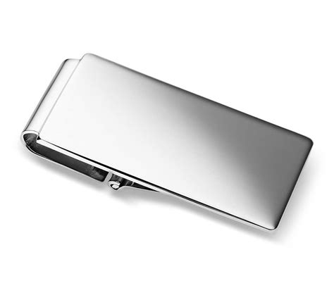 clip clip classic hinged money clip in sterling silver blue nile