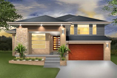 Floor Plans For Narrow Blocks by Hinchinbrook Split Level Sloping Block Marksman