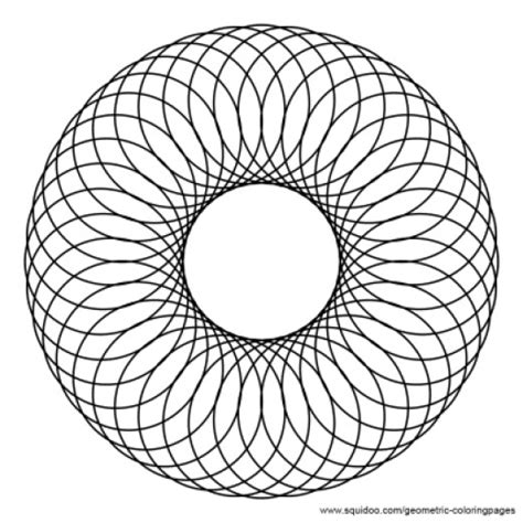 infinite designs coloring pages geometric coloring pages