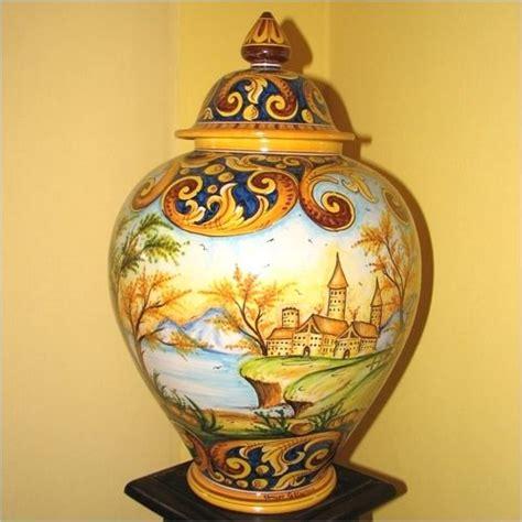 vasi di caltagirone vasi caltagirone dipinti a mano vaso in ceramica decoro