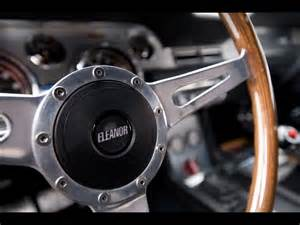 Eleanor Steering Wheel For Sale 1967 Mustang Fastback In 60 Seconds Eleanor