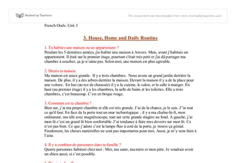 Daily Routine Essay by Essay About Your Daily Routine