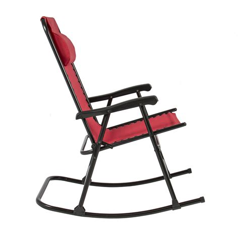 Folding Rocking Chair Foldable Rocker Outdoor Patio Rocking Chair Patio Furniture