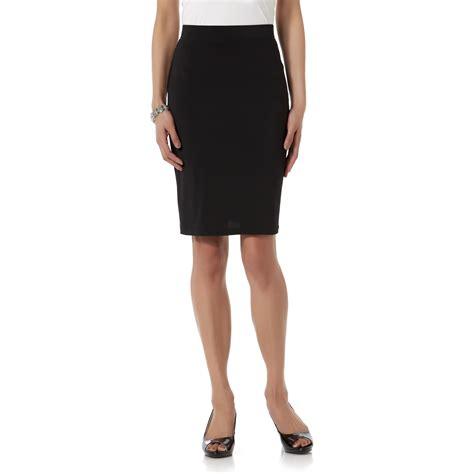 womens elastic waist skirt kmart