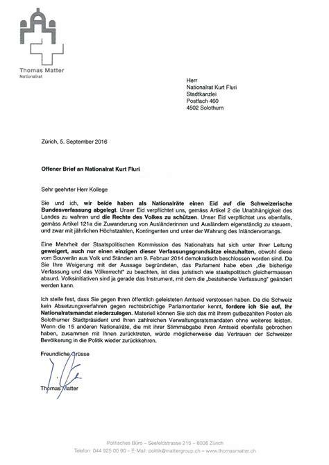 Brief Wohnungskündigung Schweiz Svp Z 252 Rich